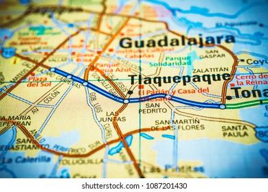 Mapa Guadalajara Images Stock Photos Vectors Shutterstock
