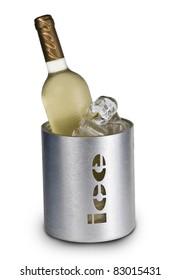 Vino blanco en hielo