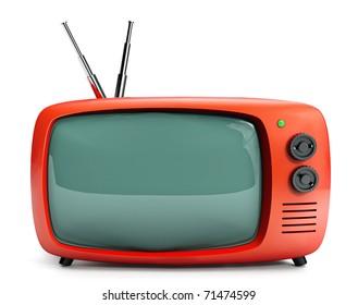 Vintage 16/9 TV set