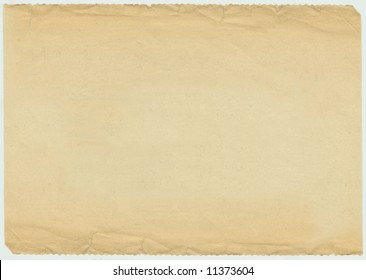 Vintage 1940s Newspaper Blank Background With Edges