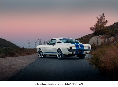Vintage 1965 Ford Mustang Fastback Shot in Kyrenia/Cyprus - 8.05.2018