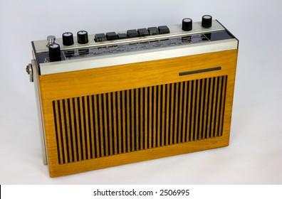 Vintage (1970s) Transistor Radio