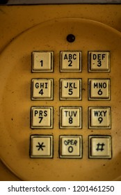 vintage adding machine buttons and dial telephones