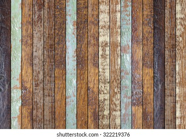 vintage aged wooden coarse background texture for design,decorate concept.