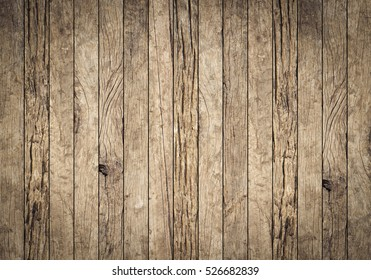 vintage aged yellow brown wood background texture with vignette.