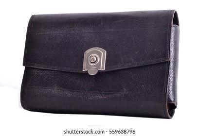 Vintage ale black wallet