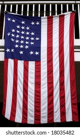 Vintage american flag (33 stars)