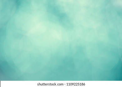 vintage aqua mint green bokeh abstract  background