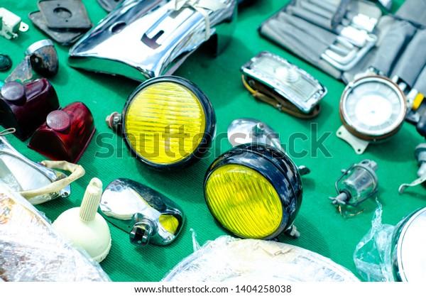 Auto Parts For Sale >> Vintage Auto Parts Sale Market Stock Photo Edit Now 1404258038