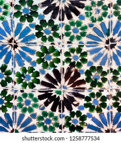 Vintage azulejos (ancient tiles) from Palacio da Vila de Sintra, Pertugal