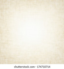 vintage background bright canvas texture and delicate beige vignette