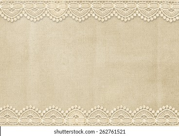 Vintage background with gorgeous lace