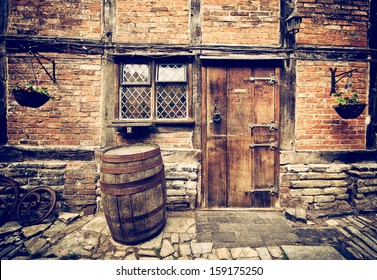 vintage bar entry