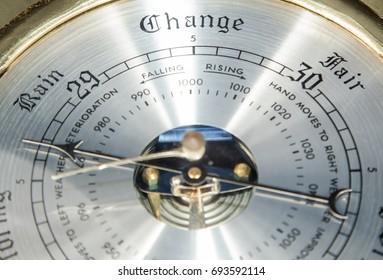 Vintage barometer.