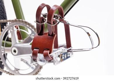 Vintage bicycle pedals