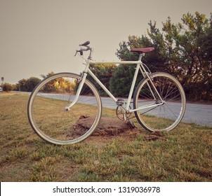 vintage bicycle in Versilia