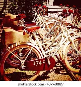 Vintage bicycles in Martha's Vineyard