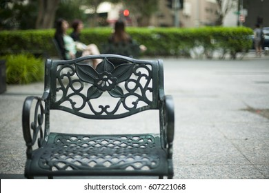 Admirable Wrought Iron Garden Furniture Stock Photos Images Gmtry Best Dining Table And Chair Ideas Images Gmtryco