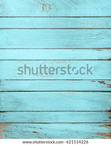 Vintage Blue Wood Background Home Decor Ideas