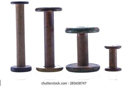 Vintage Bobbin Collection Isolated Two