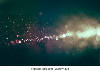 Vintage bokeh background. image is blurred and filtered.