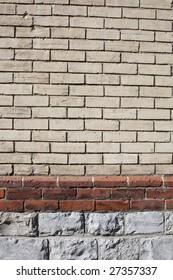 Vintage Brick Border