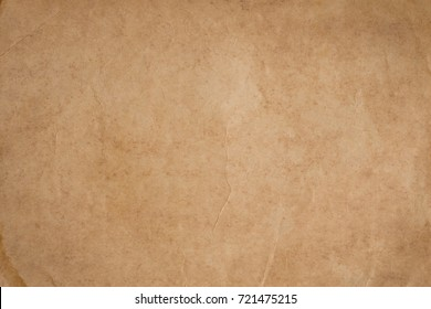 Vintage brown paper with wrinkles,abstract old paper textures for background