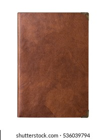 A Vintage Brown Skin Leather Writing Notebook