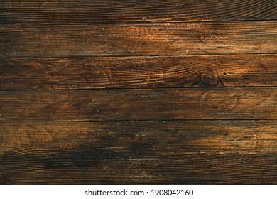 Vintage brown wood background texture. Old painted wood wall