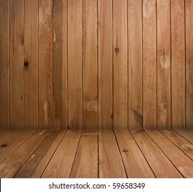 vintage brown wooden planks interior
