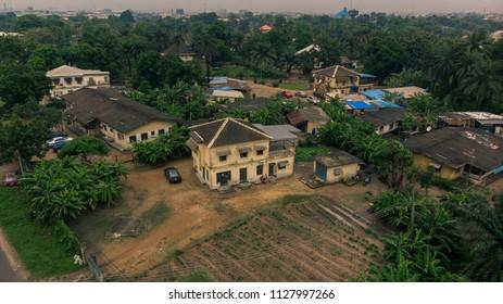 Vintage building in Nigeria