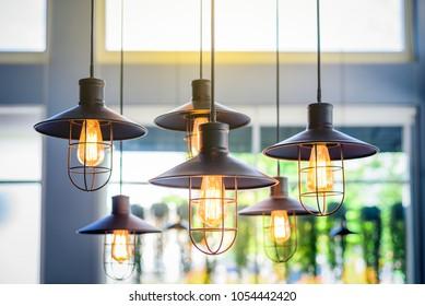 Vintage Bulb Lighting interior decor