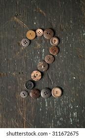 Vintage Buttons Number 2