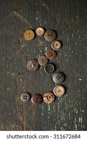 Vintage Buttons Number 3