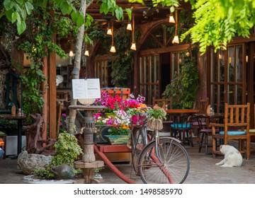 Imágenes Fotos De Stock Y Vectores Sobre Terraza De Jardín