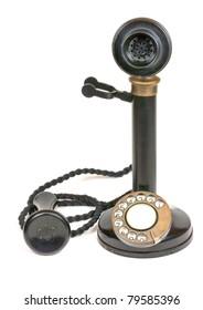 Vintage candlestick telephone