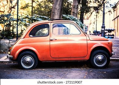Vintage Car in Italy