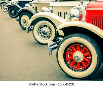 Vintage Car Wheels - Classic Vehicles