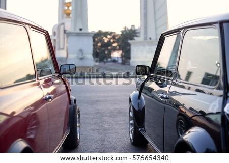 Vintage cars Morris Cooper