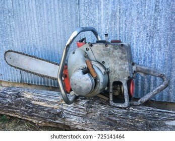 Vintage Chain Saw