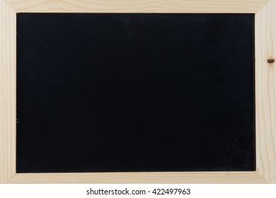 Vintage Chalkboard Isolated On White. Horizontal or Vertical alternative.