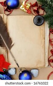 Vintage Christmas book