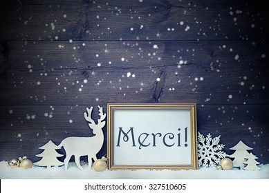 Vintage Christmas Card Picture Frame On Stock Photo Edit Now