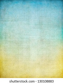 A vintage cloth book cover with a screen pattern, color gradient, and grunge background textures.