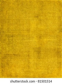 A vintage cloth book cover with a yellow-brown screen pattern and grunge background textures.  See my portfolio for other versions of this background.