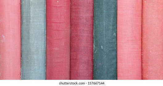 Vintage Cloth Book Spines without any Writing