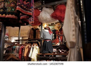 A vintage clothing store in Nagoya, Japan.