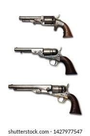 vintage colt revolvers from the late 19 hundreds century