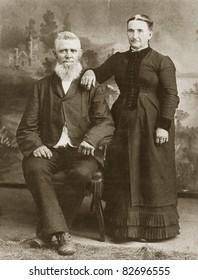 Vintage Couple, 1800's