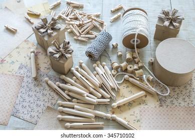 Vintage craft supplies